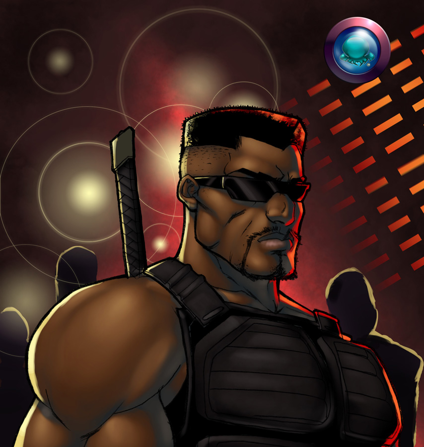 Blade Color BUST Commission