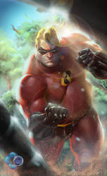 The Incredible Rulk (Red Hulk) by dr-conz