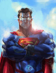 INJUSTICE REBIRTH: Superman by dr-conz