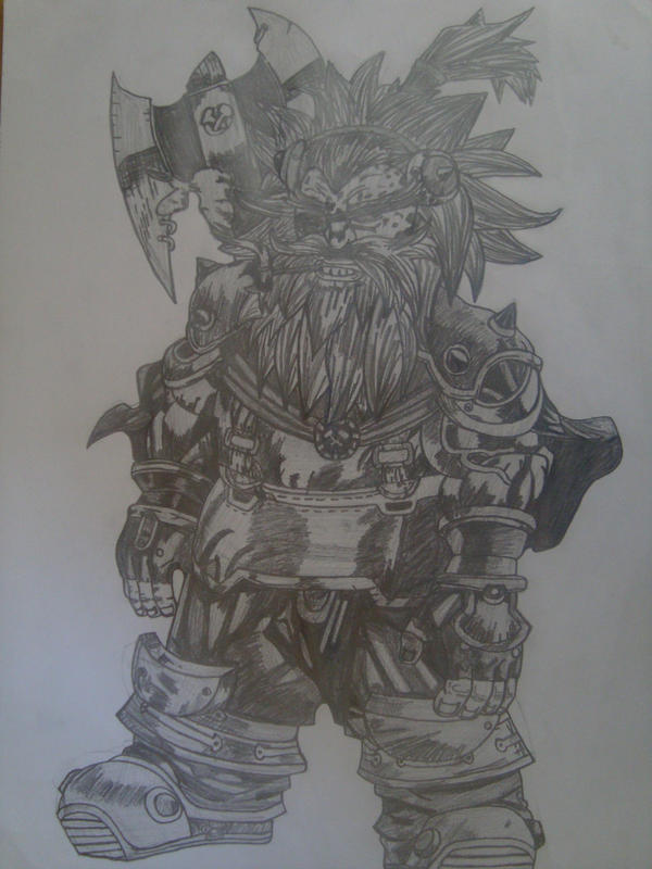 Warcraft 3. Drawing by marko0121