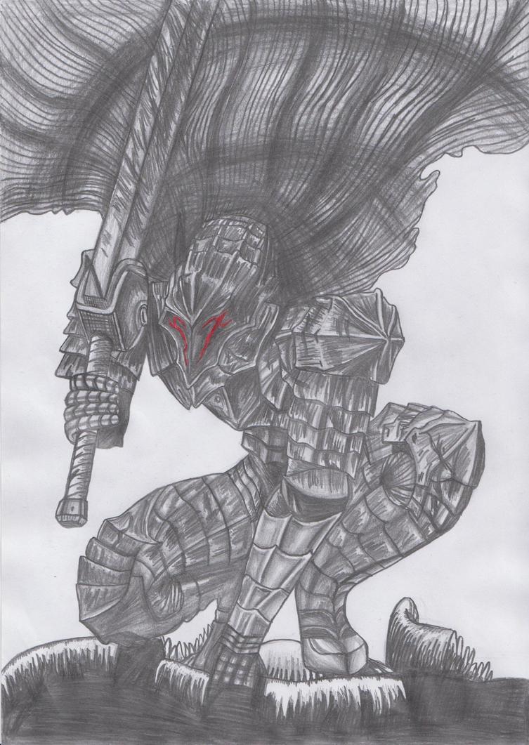Guts Drawing 1. by marko0121