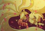 Ninetales e vulpix
