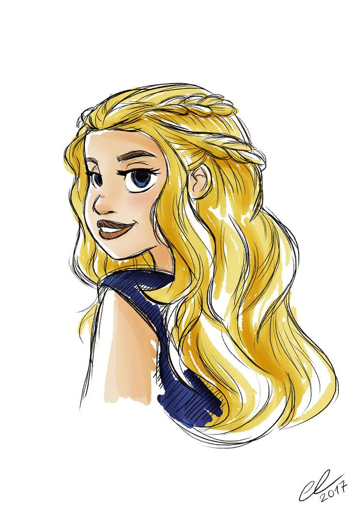 Daenerys by lalindaaa