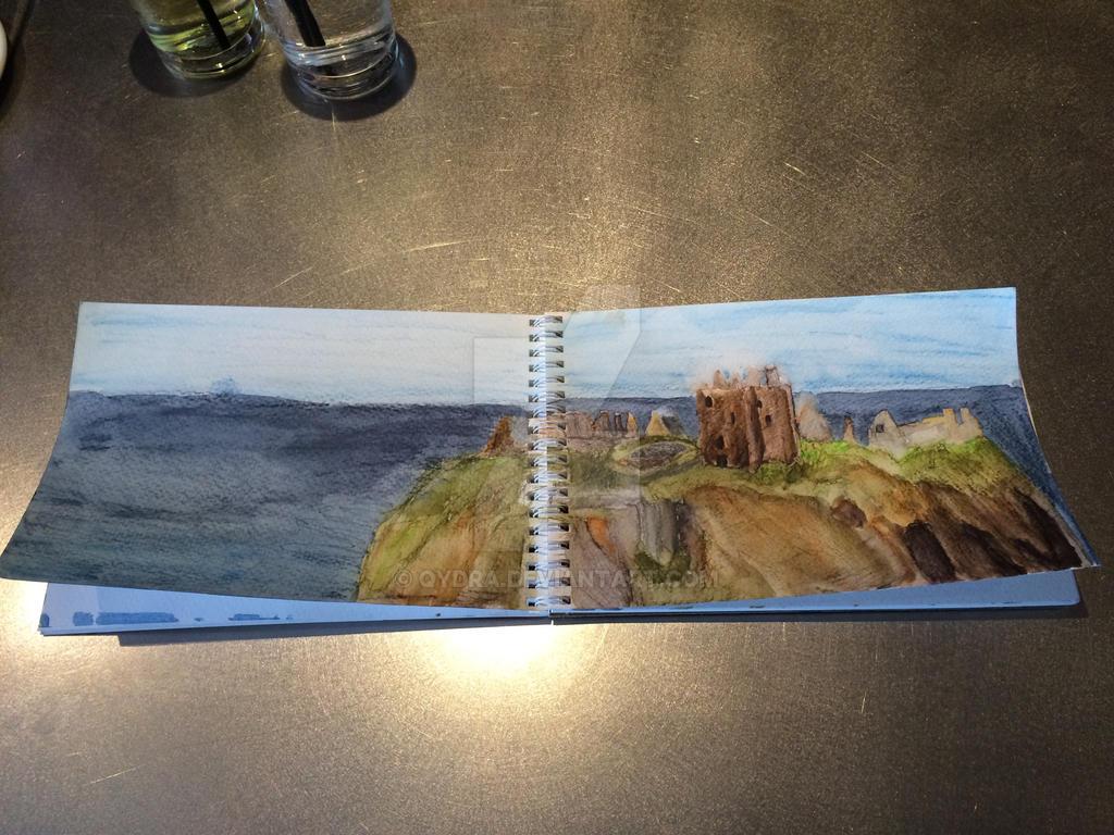 Dunnotar Castle, Scotland by Qydra
