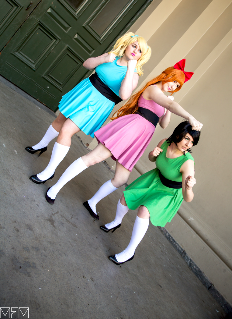 Behold your saviors -The Powerpuff Girls! by Drawnusingmusic