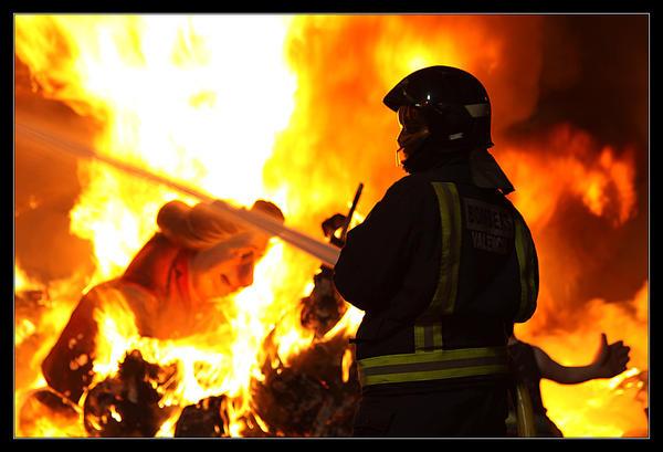 Fireman by ClawzSkunk