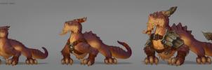 Lizard tiers