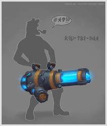 Engineer Cannon by e-danilov