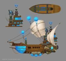 Kania Science Vessel by e-danilov
