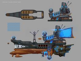 Hadagan Science Vessel by e-danilov