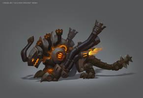 Mechanical Wyvern by e-danilov
