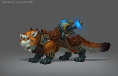 Engineer's Cat by e-danilov