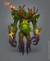 Druid's Forest Guardian by e-danilov