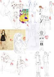 Sketches, WIP ... by mackyca