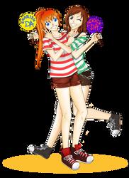 May and riyori by mackyca