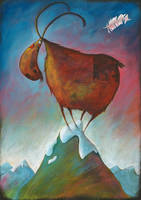 Goat by deshollinador