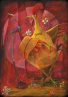 Rooster by deshollinador