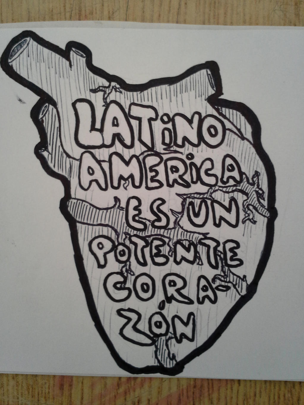 Latinoamerica Es Un Potente Corazon by MrSimonConnor