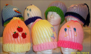 MLP FiM hats 3 by MistbornBreeze