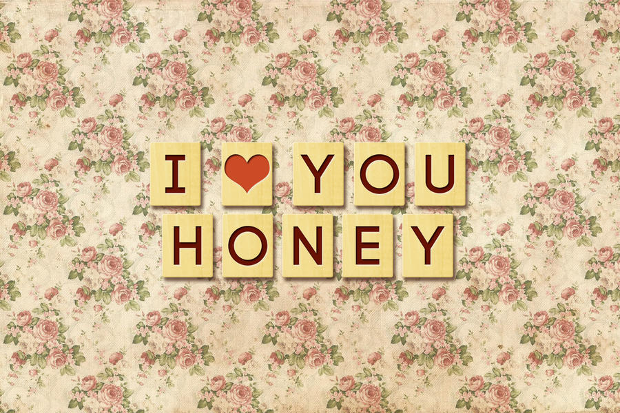 Wallpaper Love U Honey : I love you, Honey by greenwind007 on DeviantArt