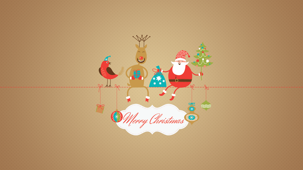 Merry Christmas Wallpaper HD By Greenwind007
