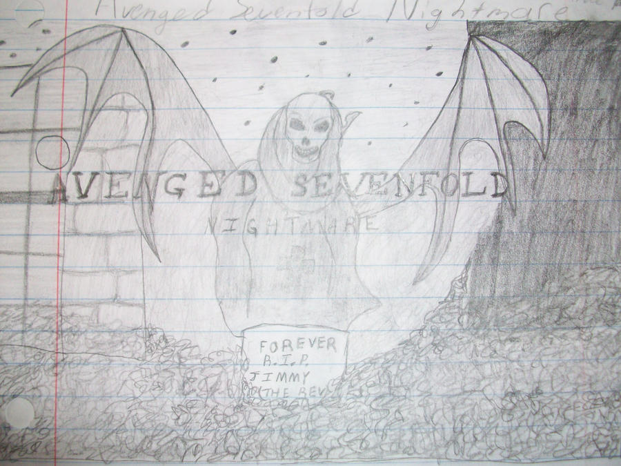 a7x drawing by 6death6stars6