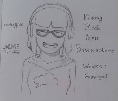 Bowmasters Sketch - Kacey Rich