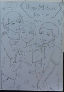 Happy National Mother's Day~