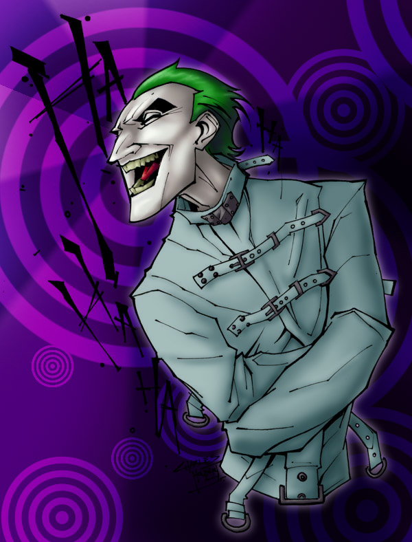 Laughing Mad Colored by OrandeArt