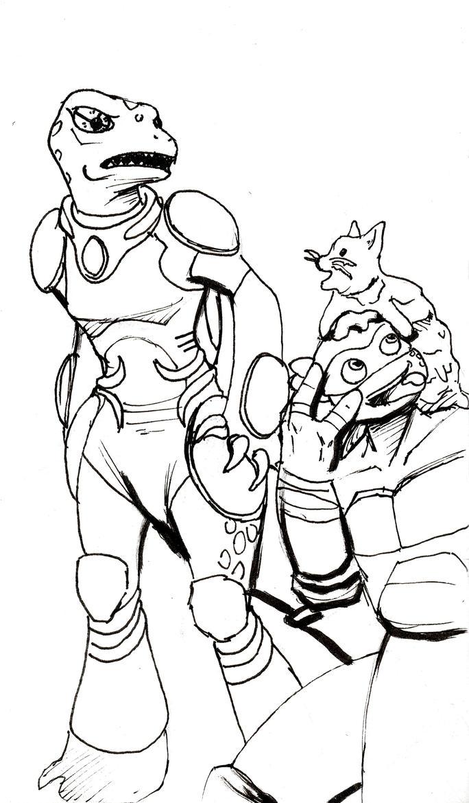 Mona meets Ice Cream Kitty by OrandeArt