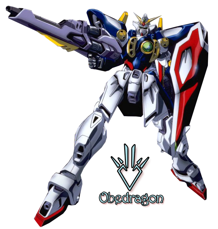 Gundam Wing - Render by Obedragon