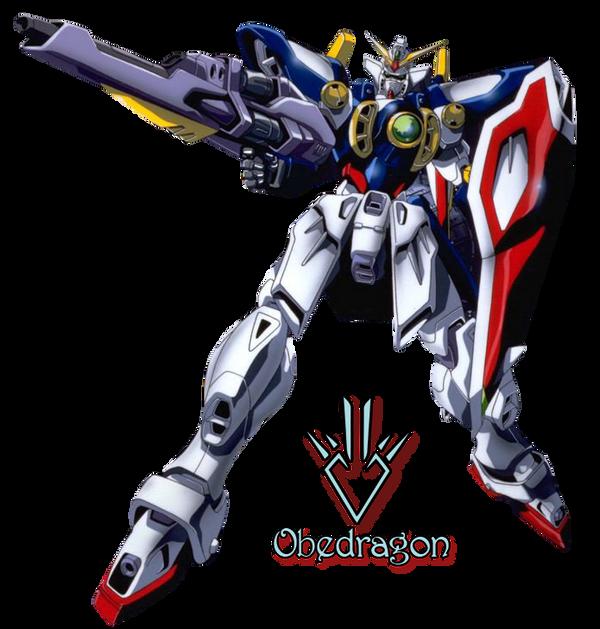 Gundam Wing - Render by Obedragon