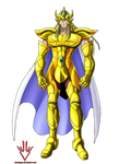 Mikene de Leo - Saint Seiya Omega - Render