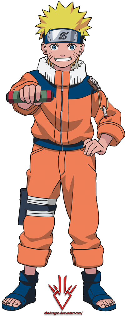 Naruto Uzumaki (kid) - Render - 4 by Obedragon on DeviantArt