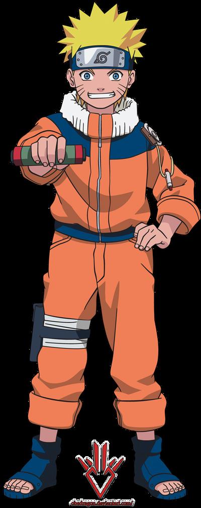 Naruto Uzumaki (kid) - Render - 4 by Obedragon on DeviantArt