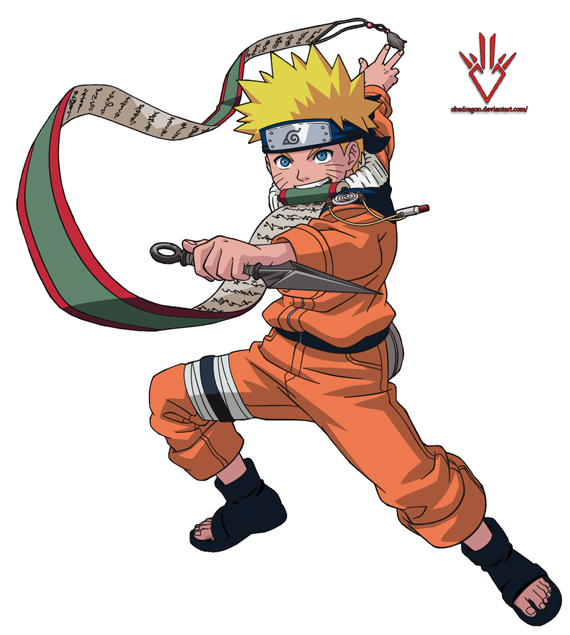 Naruto Uzumaki (kid) - Render - 3 by Obedragon on DeviantArt
