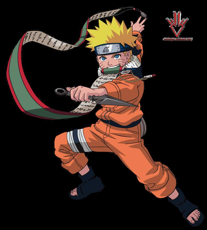 Naruto Uzumaki (kid) - Render - 3 by Obedragon on DeviantArt