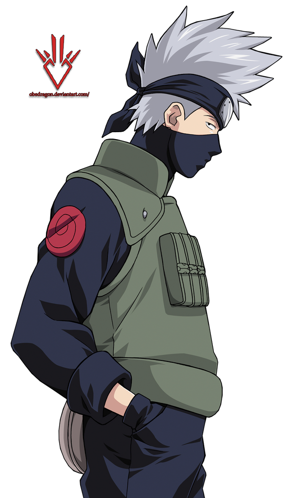 Kakashi - Render - Naruto by Obedragon on DeviantArt