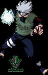 Kakashi Raikiri - Render - Naruto