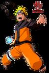 Naruto Rasengan -  Render