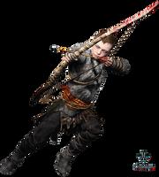 God of War - Atreus - Render by Obedragon