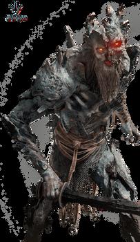 God of War - Enemigo - Render