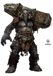 God of War - Troll de fuego - Render