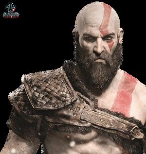 Kratos - God of War - Render