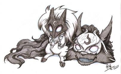 The eternally cute hunters by Balck-Angel