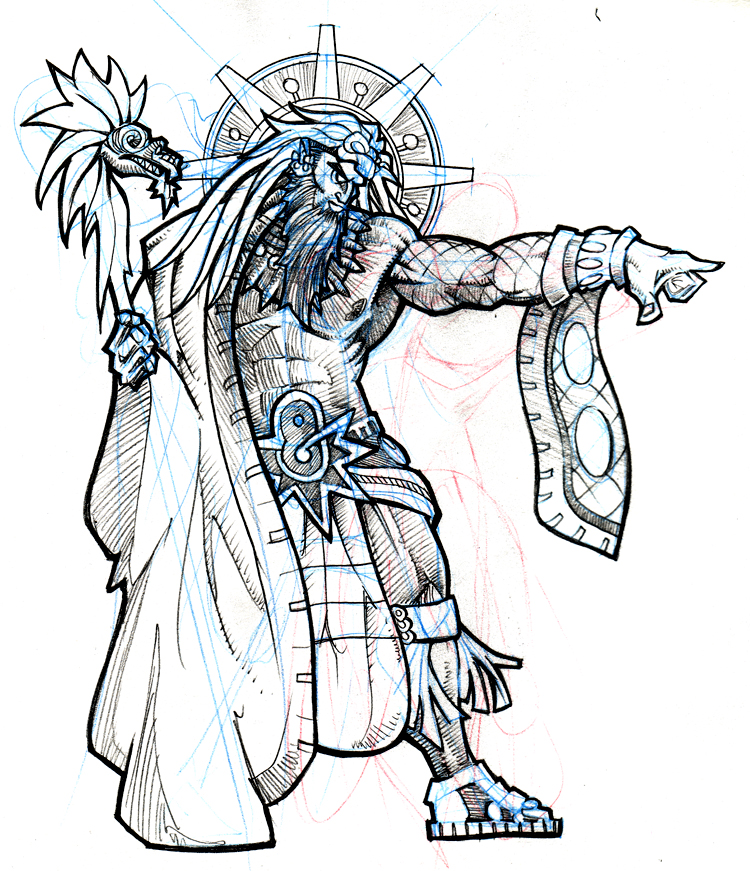 quetzalcoatl aztec drawing - photo #6