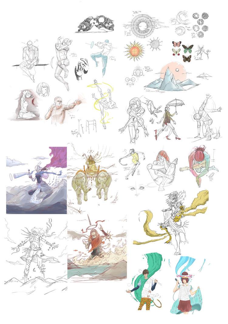Sketch by Farisato