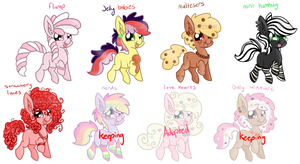 Pony Adopts [5/8 open] Points/Paypal