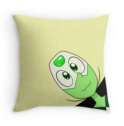 Peridot Pillow by Amberlea-draws