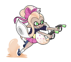 She'll shoot ya in the face by Amberlea-draws